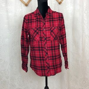 L. A. Hearts squared red shirt size S